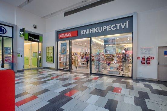 Knihkupectví Brno - exteriér