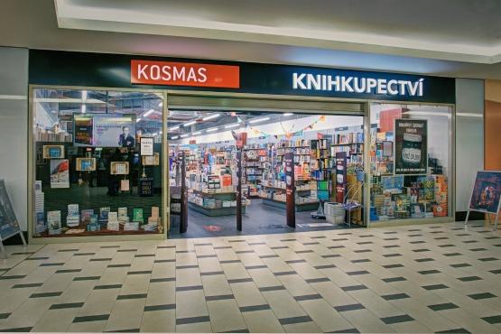 Knihkupectví Praha - Karlín - exteriér
