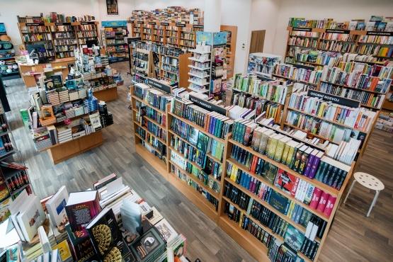 Knihkupectví Benešov - interiér