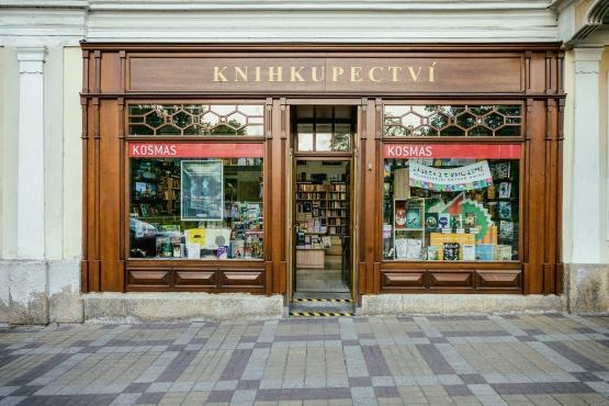 Knihkupectví Mariánské Lázně - exteriér