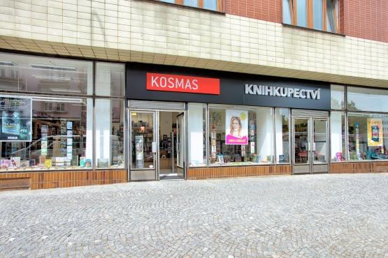 Knihkupectví Mladá Boleslav - exteriér
