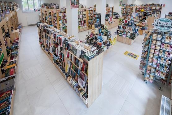 Knihkupectví Mladá Boleslav - interiér