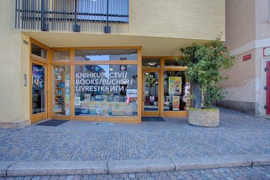 Knihkupectví Kutná Hora - exteriér