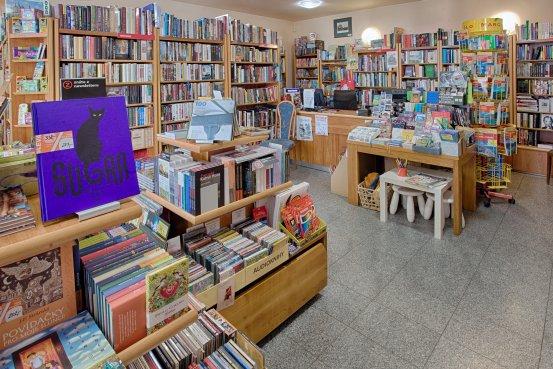 Knihkupectví Kutná Hora - interiér