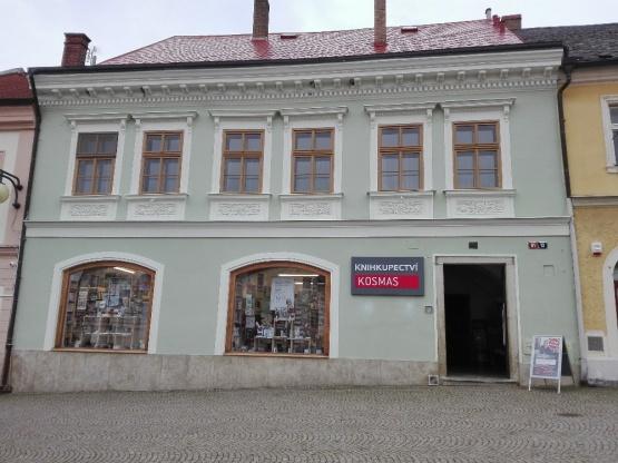 Knihkupectví Kutná Hora II. - exteriér
