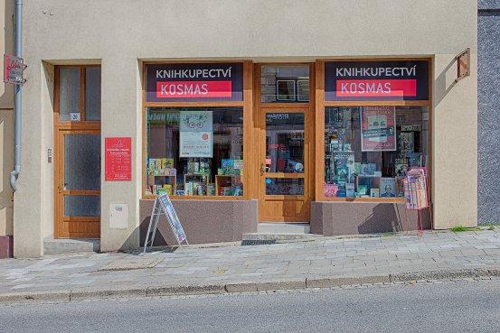 Knihkupectví Moravské Budějovice - exteriér