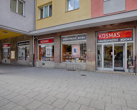 Knihkupectví Opava - exteriér