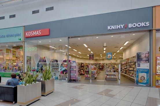 Knihkupectví Ostrava - exteriér