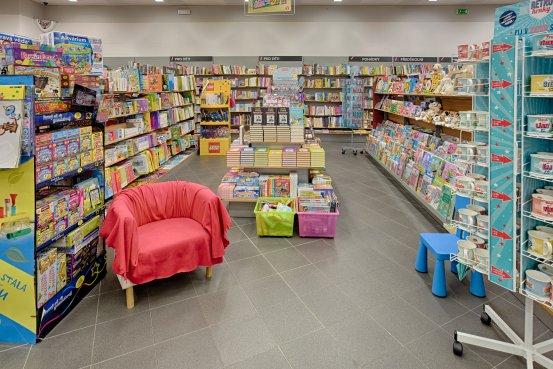 Knihkupectví Ostrava - interiér