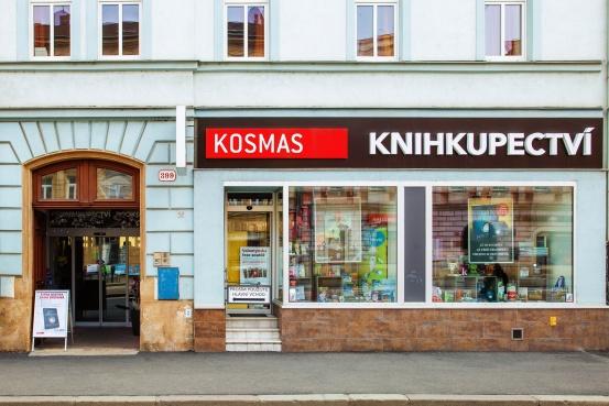 Knihkupectví Plzeň - Klatovská - exteriér