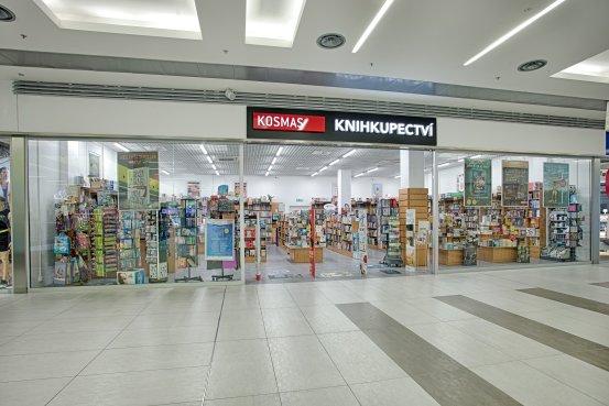 Knihkupectví Přerov - exteriér