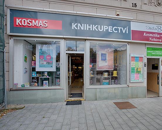 Knihkupectví Prostějov - exteriér