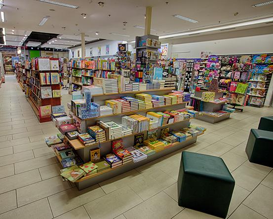 Knihkupectví Praha - Ruzyně - interiér