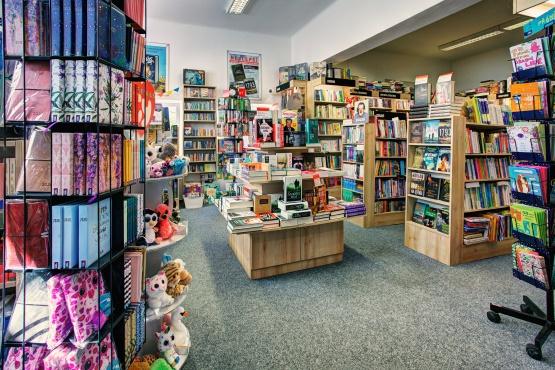 Knihkupectví Semily - interiér
