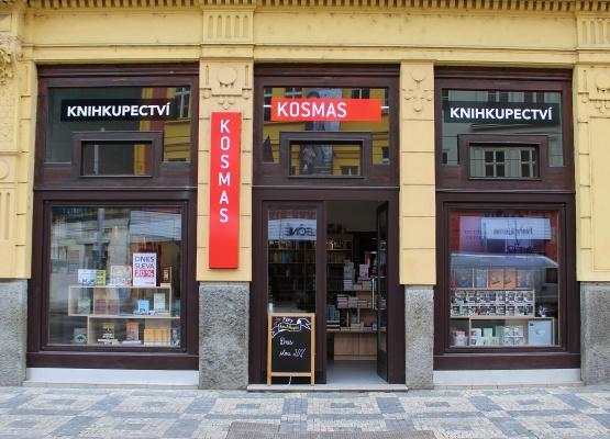 Knihkupectví Praha - Smíchov - exteriér