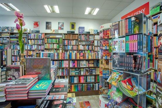 Knihkupectví Sušice - interiér