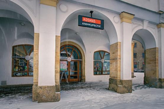 Knihkupectví Svitavy - exteriér