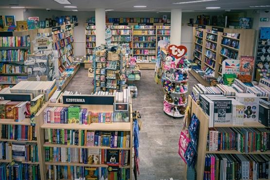 Knihkupectví Svitavy - interiér