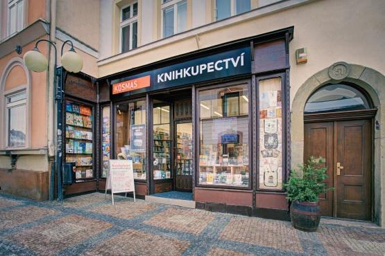 Knihkupectví Česká Třebová - exteriér