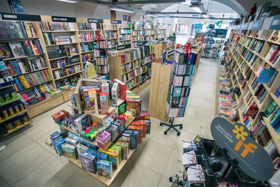 Knihkupectví Trutnov - interiér